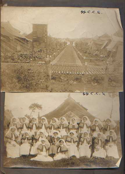 Photographs of 44 Casualty Clearing Station (1)