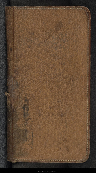 War Diary: Front Cover