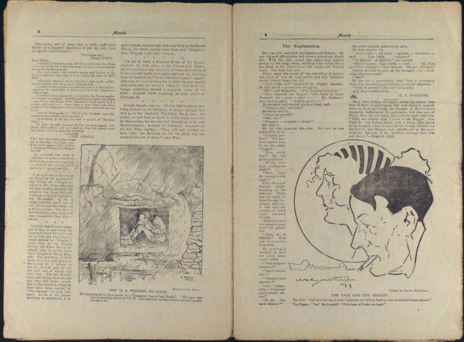 Aussie: March 1919 (3) | First World War Poetry Digital Archive