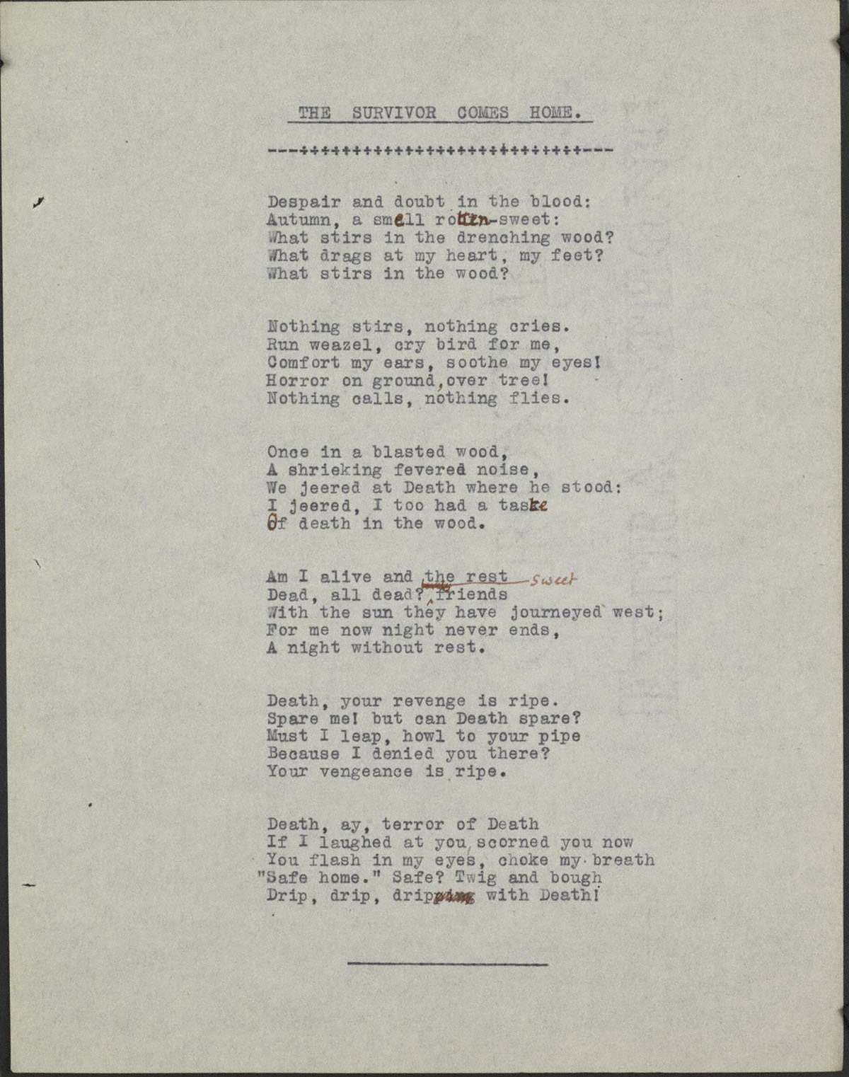 siegfried sassoon themes