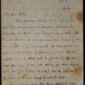 Letter: To Charles Blunden.