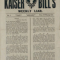 Kaiser Bill's Weekly Liar: 18th September 1914 (1)