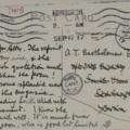 Postcard: To A. T. Bartholomew.